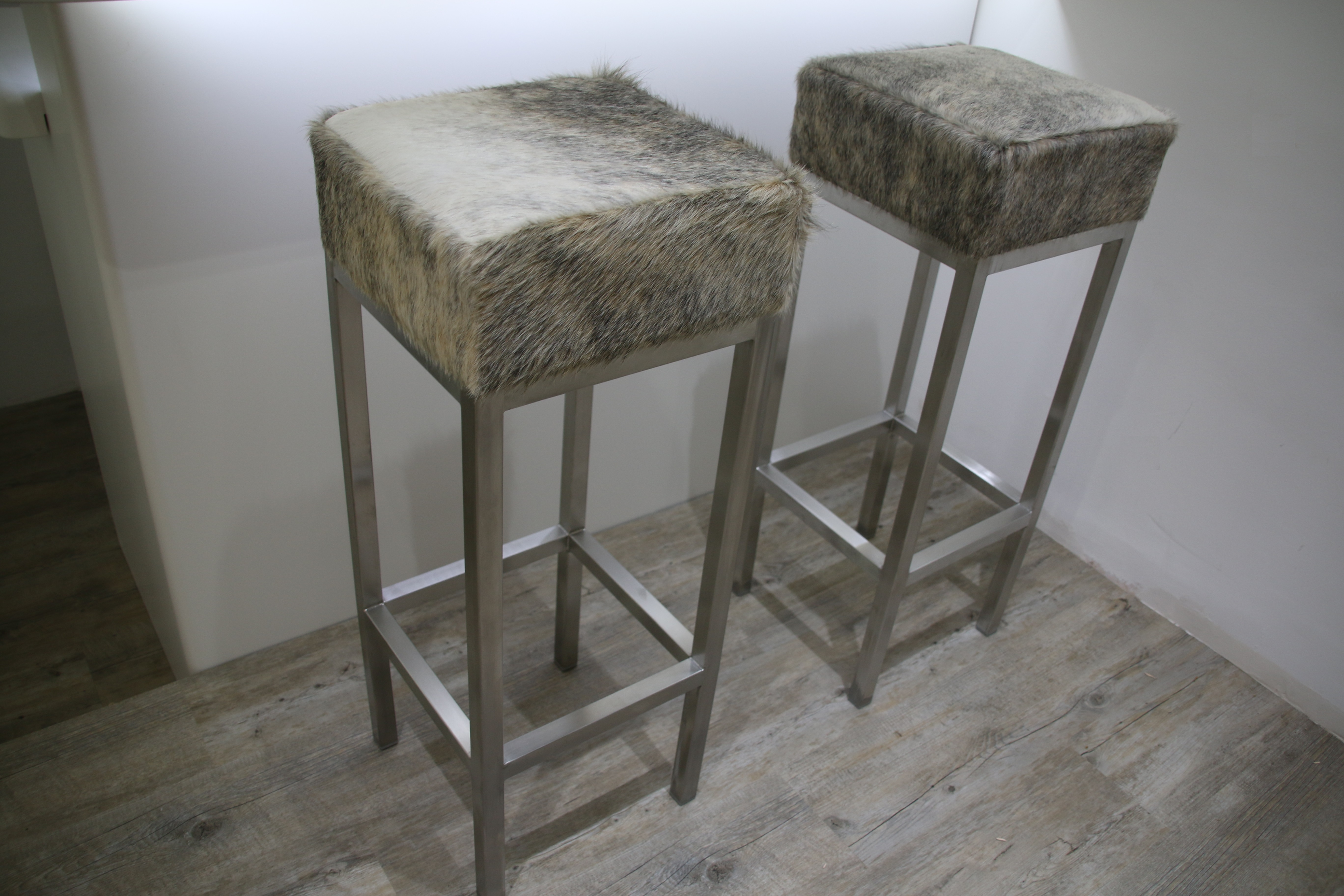 Cowhide Furniture Made To Order By Hide & Stitch