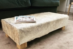 grey-and-white-cowhide-table