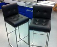 leather stools