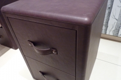 leather bedside cabinets