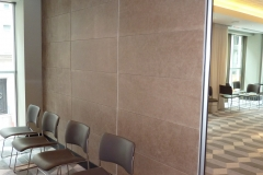 sliding leather wall panels