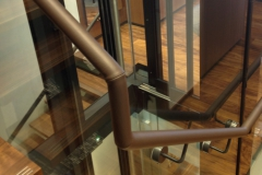Breguet Watch Store, Leather Handrail