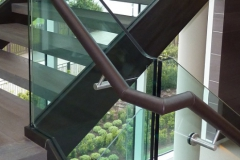 St George's Fulham Marketing Suite Handrail