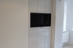 high gloss wall unit