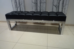 black-and-chrome-bench