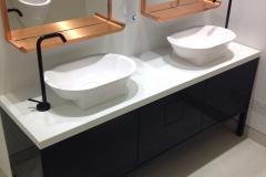 high gloss vanity units