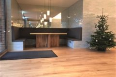 Bar & kitchen bench seating.