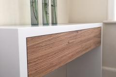 zebrano sideboard