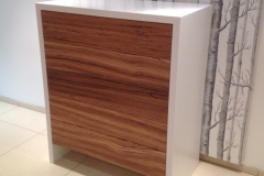 zebrano wood unit