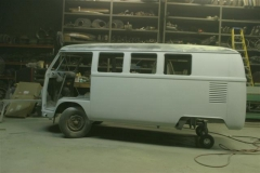 Campervan in primer