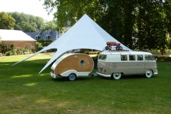 Campervan in Frane