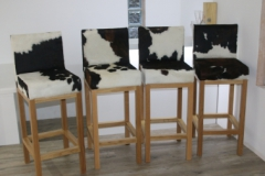 black-and-white-cowhide-stools-compressor