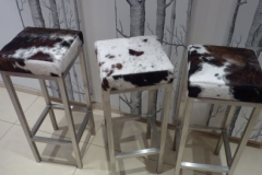 cowhide-and-steel-kitchen-stools-compressor