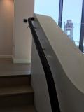 round leather handrails