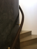bespoke leather handrails