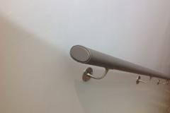 Wall Mounted Leather Handrail - Edinburgh