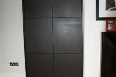 leather door panels
