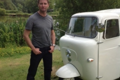George Clarke and Tuk Tuk Camper