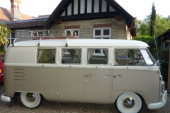 Restored campervan