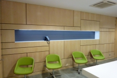 maple wood panels for office