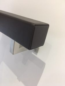 Square Leather Handrail