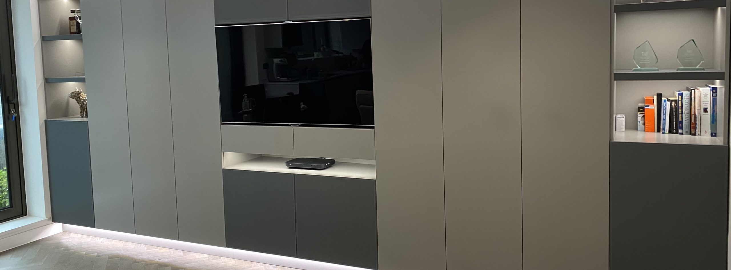 bespoke TV wall